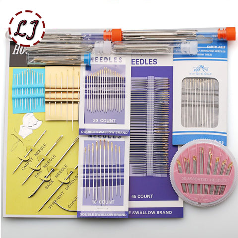 Sewing pins and needle accessories pack