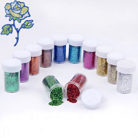 20g bottle round powder nail sequins