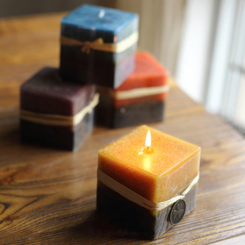 Cube shaped candle soap mold