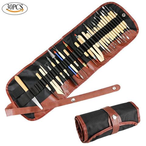 Multi-surface Sculpting tool kit 30pcs