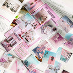 60pcs/1pack Kawaii Stationery Stickers