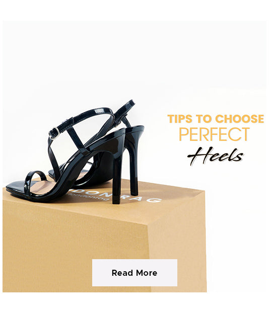 how to choose perfect heels