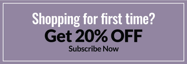 get 20% off for first time shopping use code : welcome20