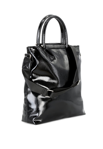 Womens Black Tote Bag - London Rag India