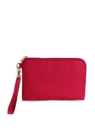 Womens Pink Clutch - London Rag India