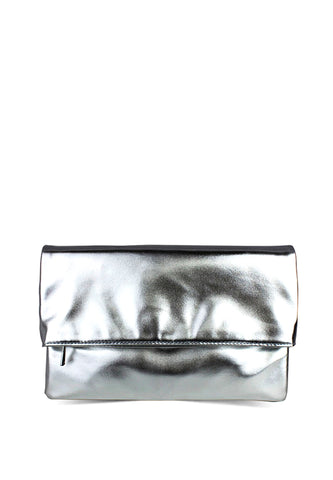 Silver Clutch - London Rag India