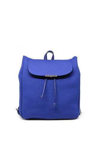 Women's Solid Color Blue Trendy Backpack - London Rag India