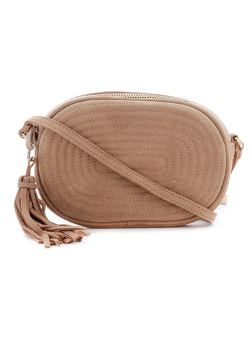 Womens Camel Sling Bag - London Rag India