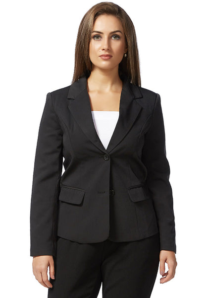 Slim Fit Black Blazer