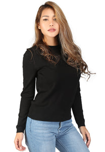 Black Fine Knit Striped Sweater - London Rag India