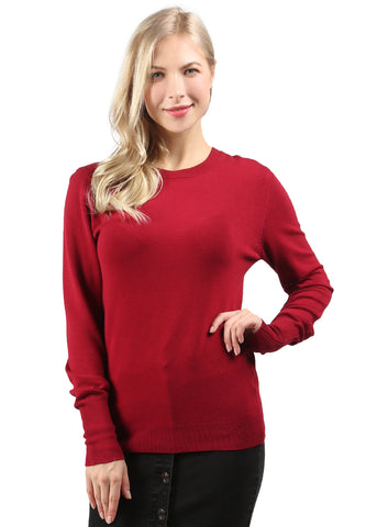 Burgundy Light Weight Pullover Sweater - London Rag India