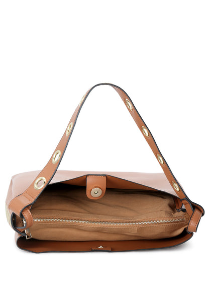 Womens Camel Tote Bag - London Rag India