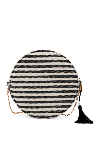 Womens Multi Color Round Sling Bag - London Rag India