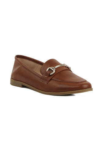 Metal Saddle Loafers - London Rag India