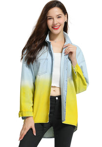 Ombre Denim Shirt - London Rag India