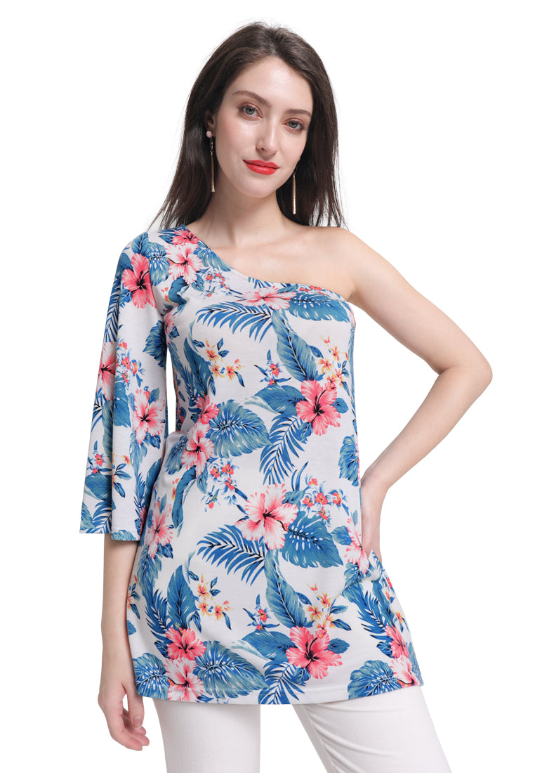 One shoulder Tunic Top - London Rag India