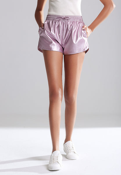 Metallic shorts - London Rag India
