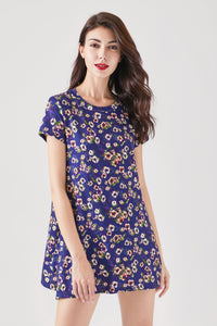Printed Floral Tunic Top - London Rag India