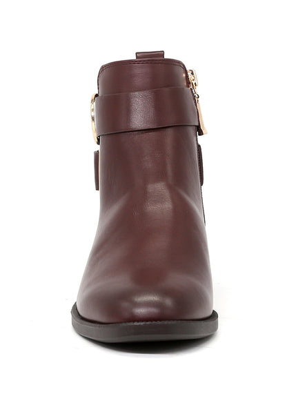 Women's Brown Ankle Boot - London Rag India