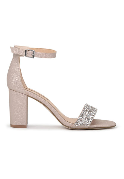 Heather Sophie Natural Color Ankle Strap Open Toe Sandals - London Rag India