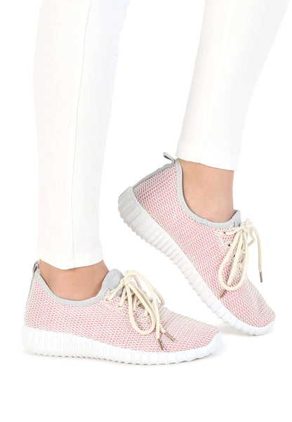 Womens Blush Shannon Sport Shoes - London Rag India