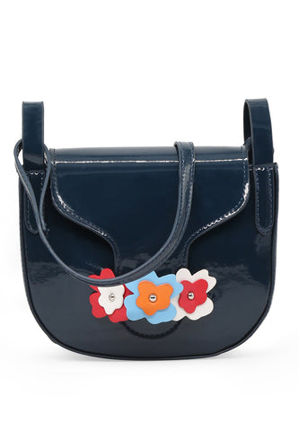 Womens Navy Sling Bag - London Rag India