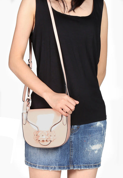 Women pink Sling Bag - London Rag India