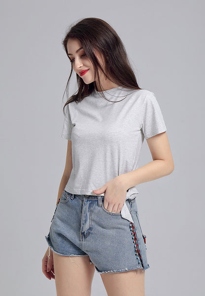 Grey Side Knot Top - London Rag India
