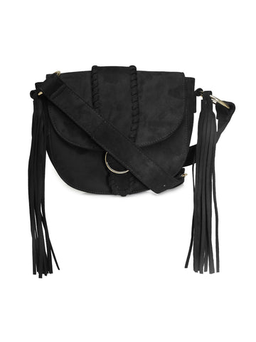 Black Sling Bag - London Rag India