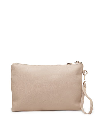 Women Cream Satchel Bag - London Rag India