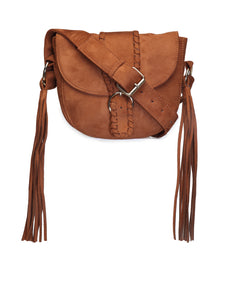 Tan Sling Bag - London Rag India
