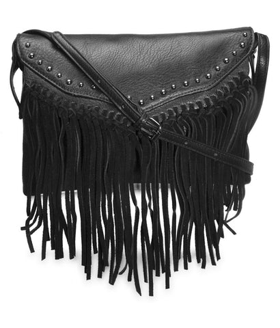 Womens Black Sling Bag - London Rag India