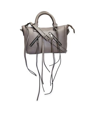 Dark Grey Handbag - London Rag India