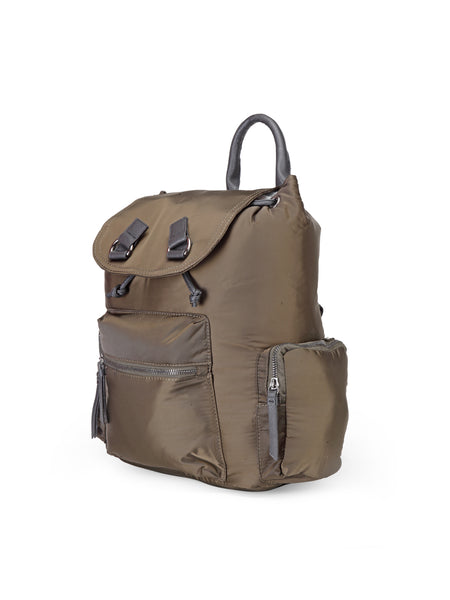 Khaki Backpack - London Rag India