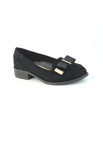 Womens Black Ballerina - London Rag India