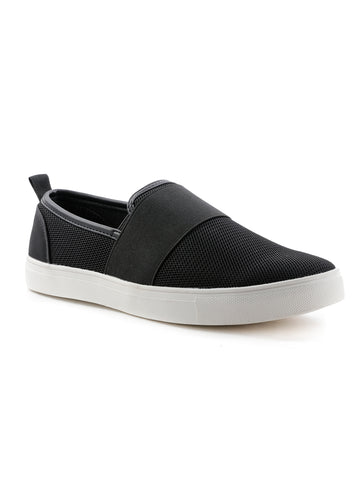 Womens Black Casual Shoes - London Rag India