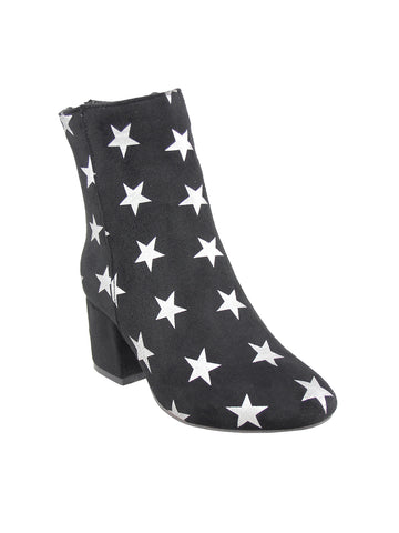 Black/Silver Boots - London Rag India