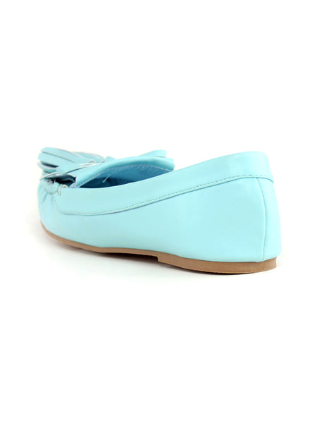 Women Blue Slip-On Ballerina - London Rag India
