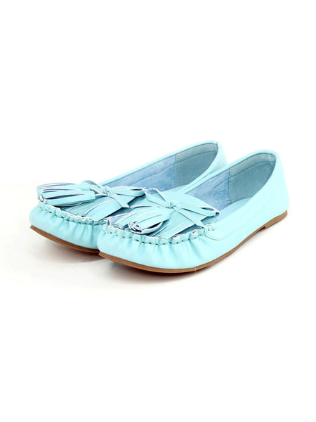 Blue Slip-On Ballerina - London Rag India