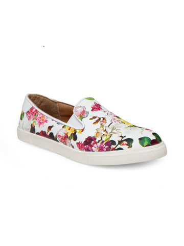 Womens Floral Sneakers - London Rag India