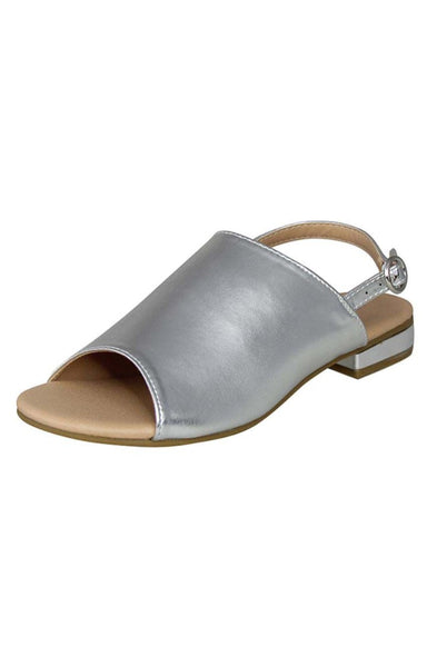 Womens Silver Sandals - London Rag India