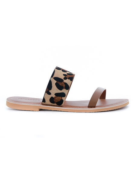 Leopard Print Sliders - London Rag India