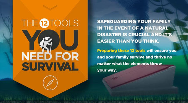12 Tools You Need For Survival