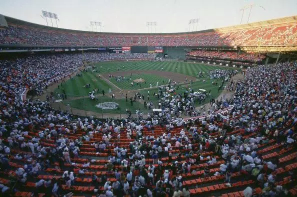 The World Series Earthquake of 1989