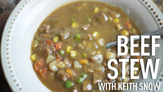 Beef Stew Recipe with Keith Snow - Be Prepared - Emergency Essentials