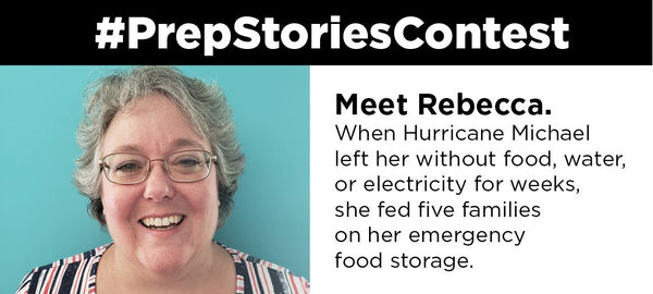 Rebecca's Story: Surviving Hurricane Michael - Be Prepared - Emergency Essentials