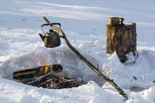 Wilderness Cooking in the Snow - Be Prepared - Emergency Essentials