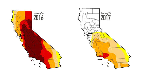 The State of the Drought: California Looking Good, but Still Not Enough - Be Prepared - Emergency Essentials