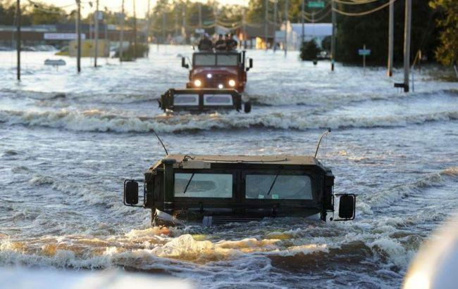 North Carolina Floods at Record Levels Following Hurricane Matthew - Be Prepared - Emergency Essentials