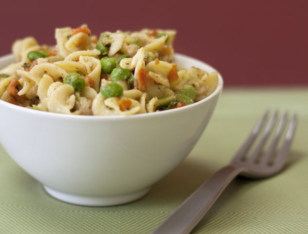 Celebrate Spring (or Pretend it's Spring) with Food Storage Pasta Primavera